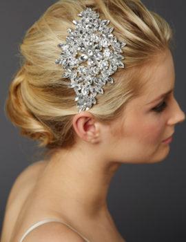 Crystal Sunburst Hair Ornament